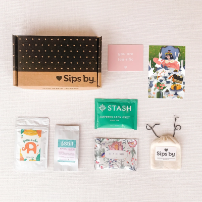 Sips by Mother's Day Tea Gift Boxes Available Now!