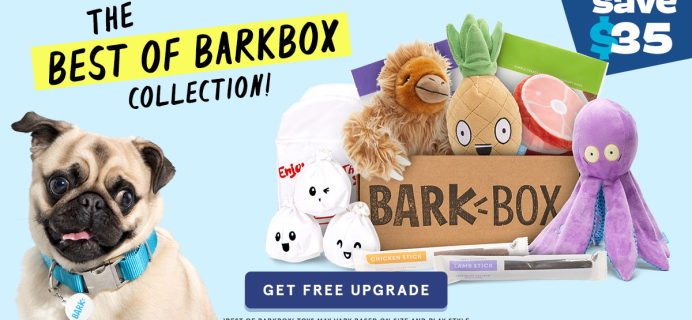 BarkBox Coupon: Double Your First Box for FREE!