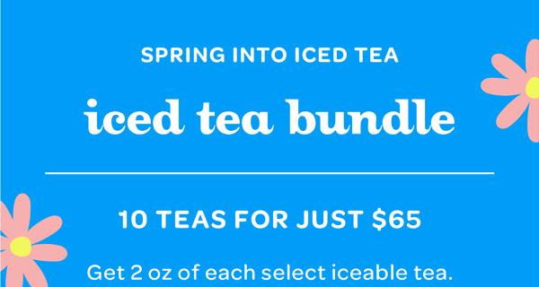 David's Tea Iced Tea Bundle Available Now!