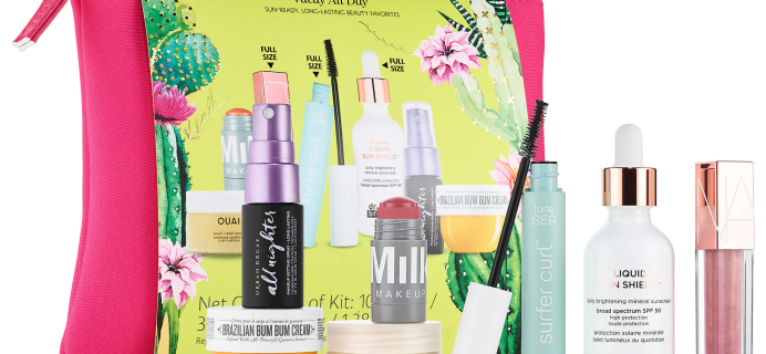 New Sephora Favorites Vacay All Day Set Available Now + Coupons!