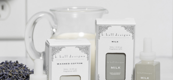 Pura K. Hall Designs Fragrances Available Now + Coupon!