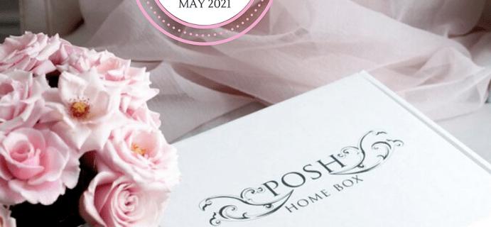 Posh Home Box May 2021 Spoilers!