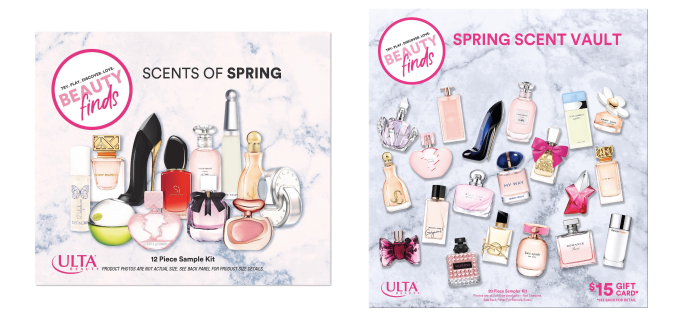New ULTA Spring Scents Sampler Kits Available Now!