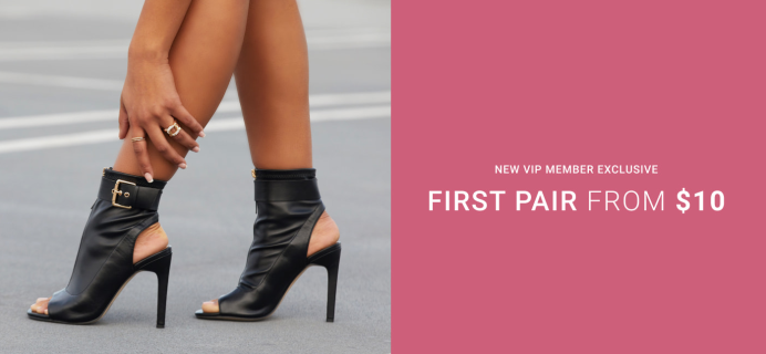 Shoedazzle Coupon: First Pair From $10!