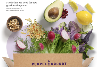 The Purple Carrot Coupon: Get $30 off Plant Based Meal Delivery!