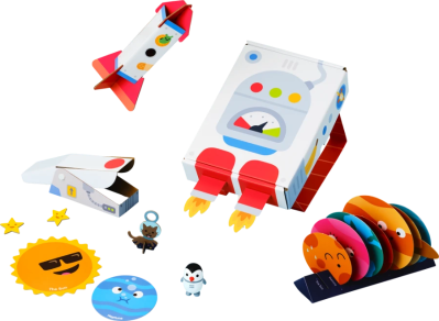 Sago Mini Space Explorer Box Spoilers + First Box $10 Coupon!