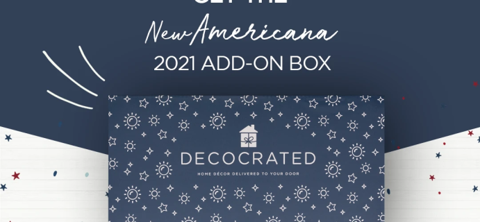 Decocrated The New Americana Box 2021 Full Spoilers + Coupon!