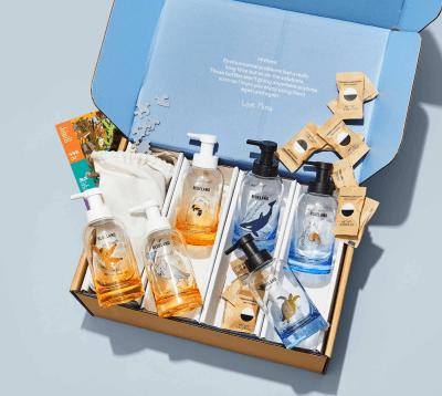 Blueland x Mona Chalabi Earth Day Hand Soap Kit Collab!