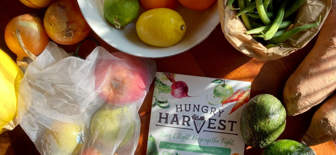 Hungry Harvest Coupon: Get $10 Off First Box of Fruit & Veggie Delivery!