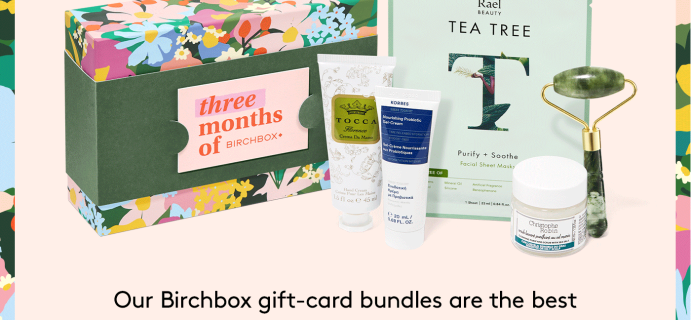 Birchbox Mother's Day Sale: Get Spring Gift Card Bundles for as low as $45!