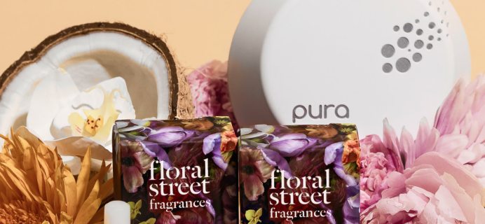 Pura Floral Street Fragrances Available Now + Coupon!