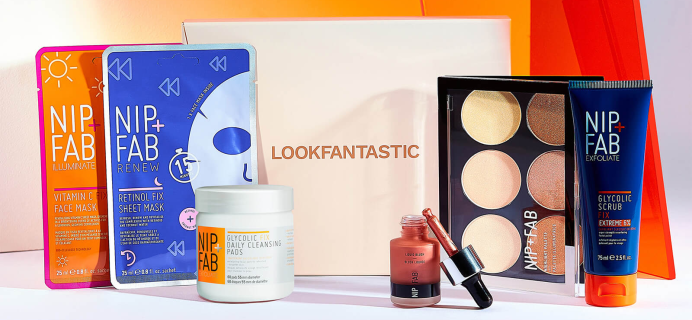 Look Fantastic x Nip+Fab Starter Kit Available Now + Full Spoilers + Coupon!