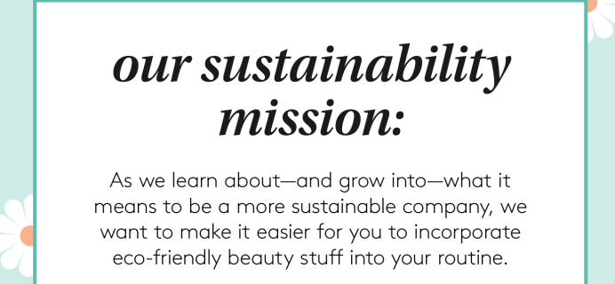 Birchbox Subscription Update: Now A More Sustainable Company!