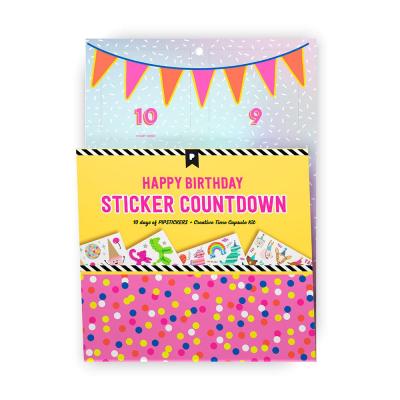 2021 Pipsticks Birthday Countdown Calendar Is Here!