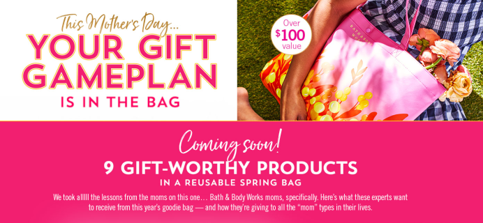 Bath & Body Works Spring 2021 Mother's Day VIP Tote Coming Soon + FULL Spoilers!