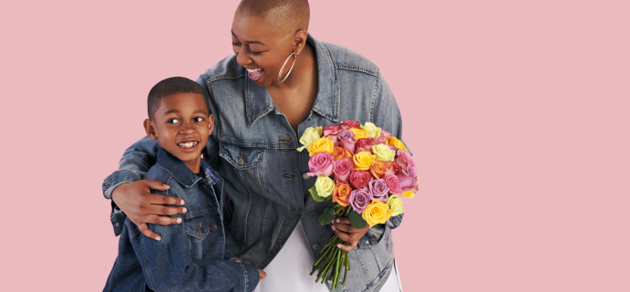 The Bouqs Mother's Day Sale: Get 25% Off Flower Shop Orders SITEWIDE!