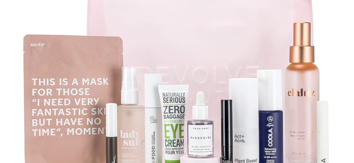 Revolve Clean Beauty Bag – Back for 2021!