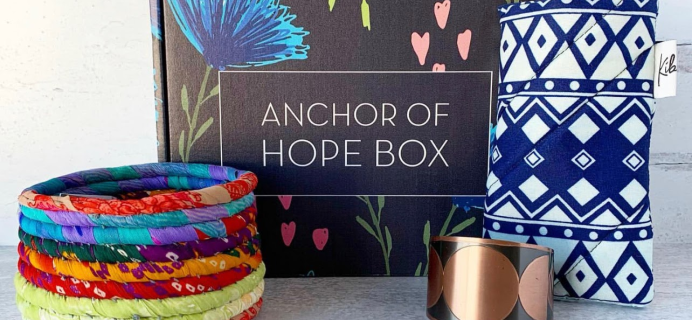 Mother's Day Gift Ideas: Support Women-Owned Businesses with Anchor Of Hope Box!