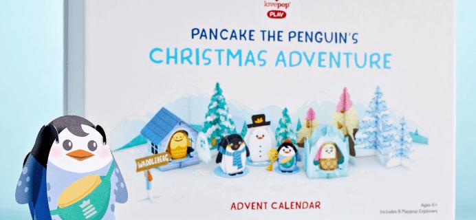 Lovepop Cards Pancake the Penguin Advent Calendar Available Now!