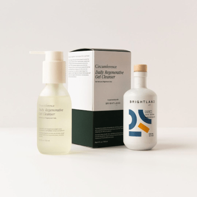 Brightland x Circumference Root to Leaf Facial Cleanser: Sustainable With Goodness of Olive!