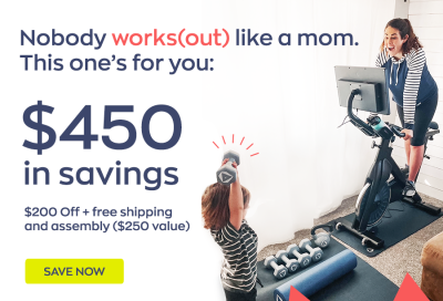 MYX Fitness Mother's Day Sale: Get $200 Off + FREE Shipping ($450 Total)!