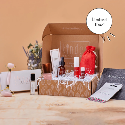 Kinder Beauty's Limited Edition Mother's Day Box Is Here To Pamper Mom With Self Care Essentials!