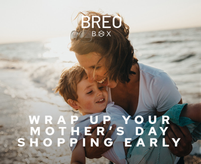 Because Mom Deserves to be Spoiled: Give a Breo Box Subscription OR Gift Box + $35 Off Coupon!