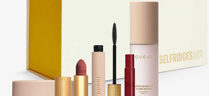 Selfridges Gucci Beauty Bundle Gift Set Is Here For The Gucci Obsessed Mama!