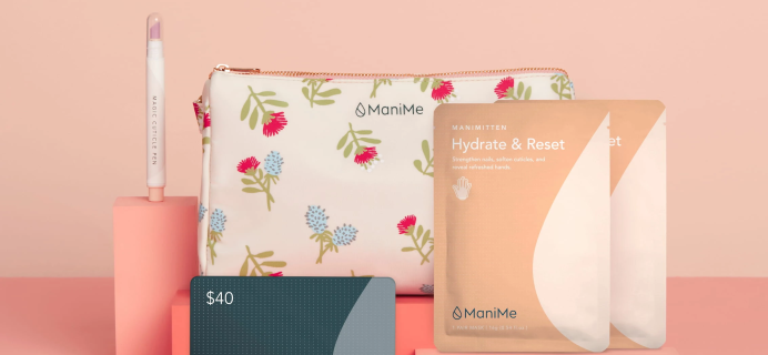 ManiMe Mother's Day Gift Kit Is Everything Mom Wants In A Mani Kit, All in A Custom Pouch!