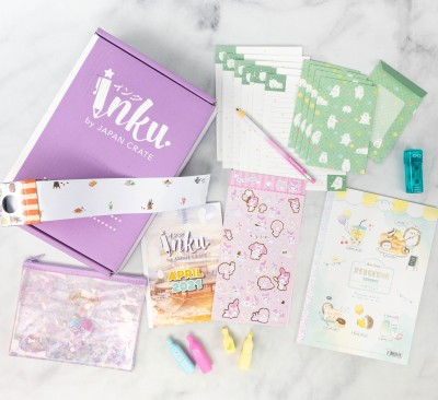 Inku Crate Review + Coupon – April 2021