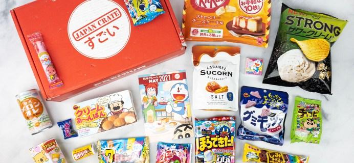 Japan Crate May 2021 Review + Coupon