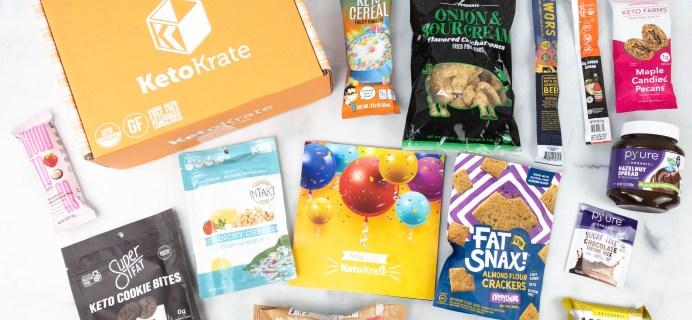 KetoKrate May 2021 Subscription Box Review + Coupon