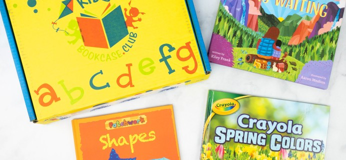 Kids BookCase Club April 2021 Box Review + 50% Off Coupon – Girls Newborn-2 Years