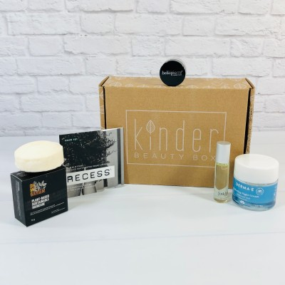 Kinder Beauty Box April 2021 Review + Coupon – EMBODY