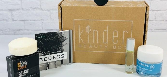 Kinder Beauty Box April 2021 Review + Coupon – EMBODY