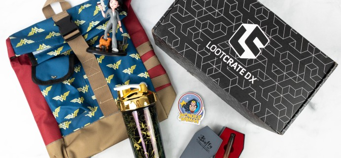 Loot Crate DX March 2021 Subscription Box Review & Coupon