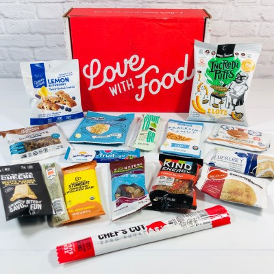Love With Food April 2021 Deluxe Box Review + Coupon