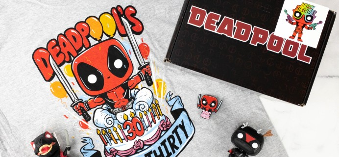 Marvel Collector Corps Review – DEADPOOL! – March 2021