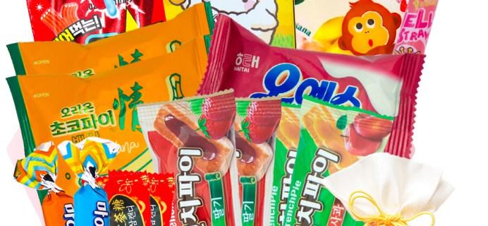 Korean Snack Box May 2021 FULL Spoilers + Coupon!