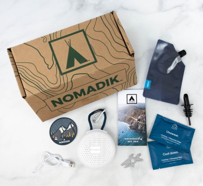 Nomadik June 2021 Subscription Box Review + Coupon – Independence Day Trip