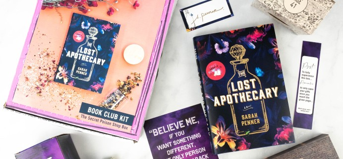 Once Upon a Book Club Review + Coupon –  April 2021 Adult Box