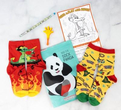 Panda Pals Kids Sock Subscription Review + Coupon –  April 2021