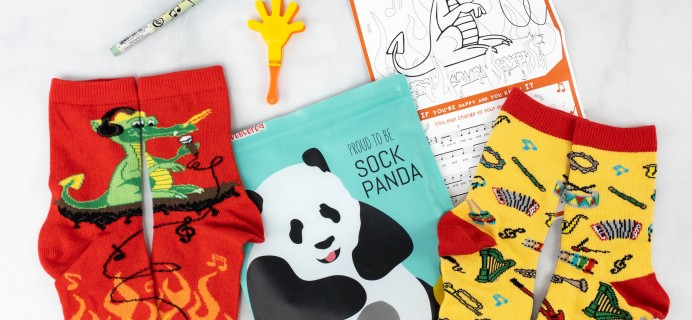 Panda Pals Kids Sock Subscription Review + Coupon –  April 2021