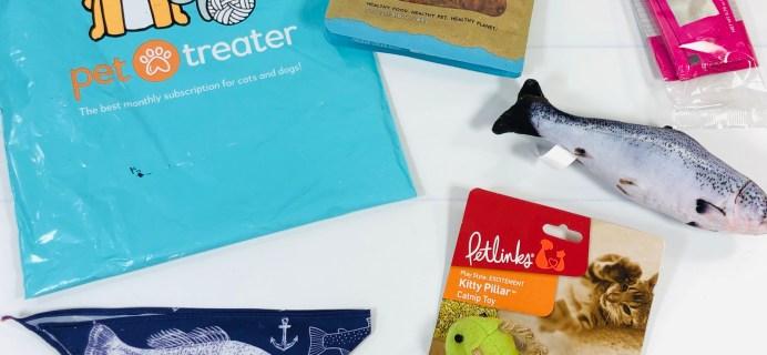 Pet Treater Cat Pack Review + Coupon –  April 2021