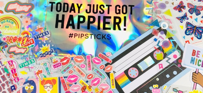Pipsticks Coupon: Get $5 Off First Month of Stickers!