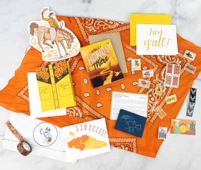 Postmark'd PostBox April 2021 Subscription Review + Coupon