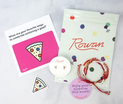 Rowan Earring Club Review – April 2021
