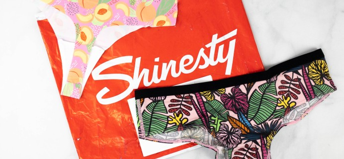 Shinesty Underwear Subscription Review + Coupon – Women