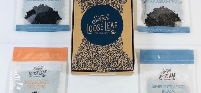Simple Loose Leaf Tea Review + Coupon – April 2021