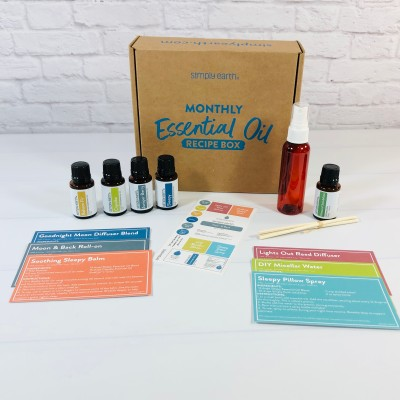 Simply Earth April 2021 Essential Oil Subscription Box Review + Coupon